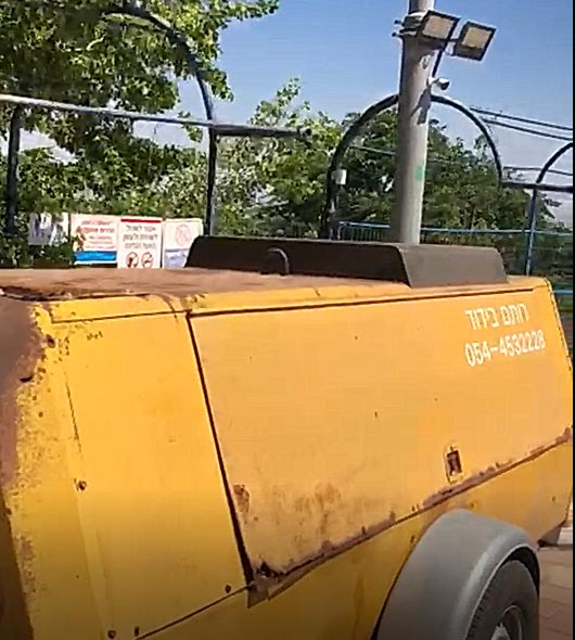 מכונת ניקוי חול - רותם בידוד